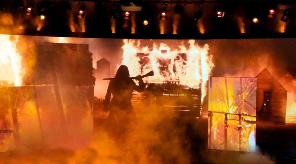 Jamestown settlement | Technifex Products Faux Fire